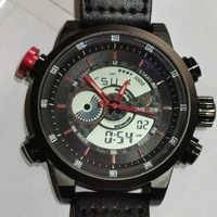 Weide military men sports chronograph quartz wristwatch