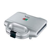 Moulinex sm1561 ultracompact sandwich maker, 700w, silver