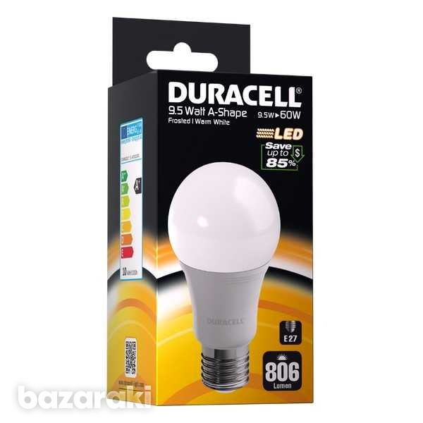 Duracell led e27 9.5w frosted gls screw bulb-1