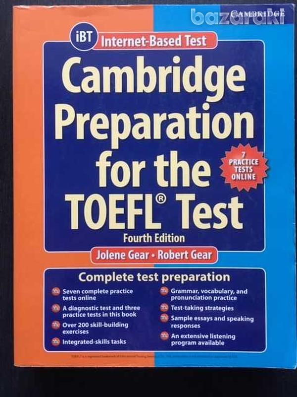 Cambrige preparation for the toefl test
