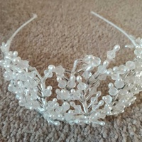 Bridal headwear tiara princess wedding