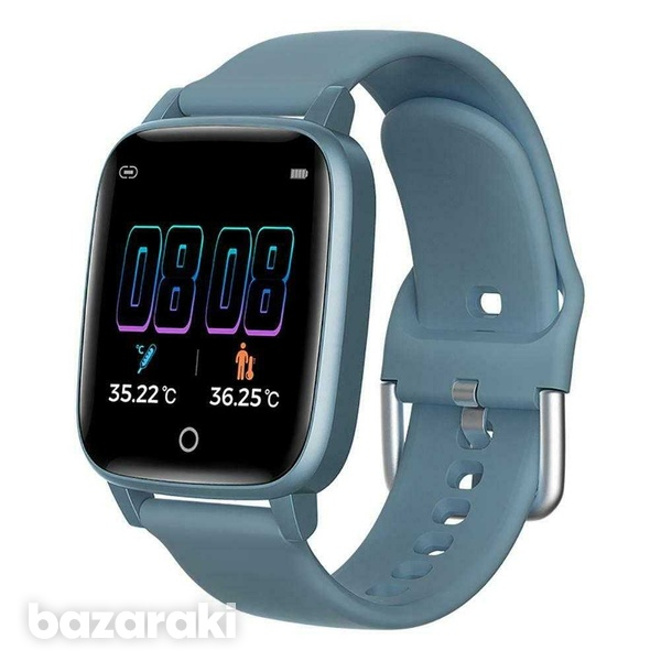 Body temperature blood pressure heart rate fitness watch-3