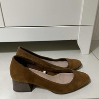 Massimo dutti leather shoes