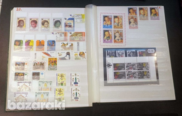 Year of the child mint stamps 35 min. sheets and 134 sets-1
