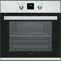 Sharp - oven 69l - fan assisted