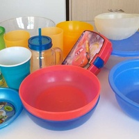 Various plastic kitchenware 21 pieces