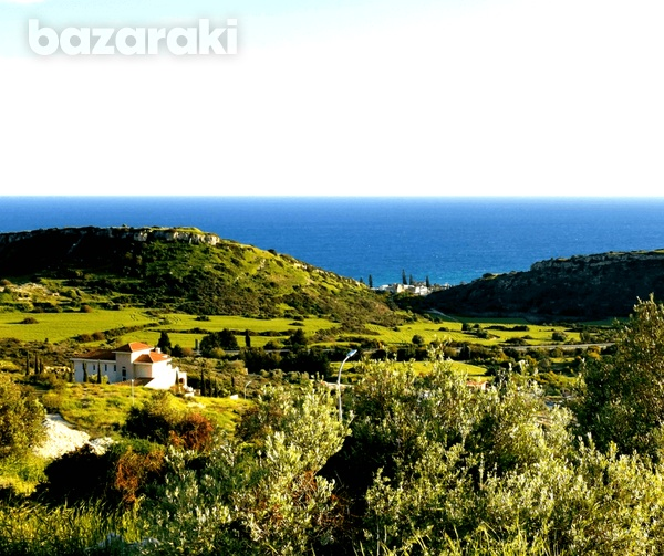 Land in ayios tychonas with unobstructed sea view-8