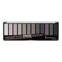 Rimmel magnif'eyes 12 pan eyeshadow palette smokey edition 14 g