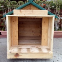 New pallet dog house for s/m/l dogs