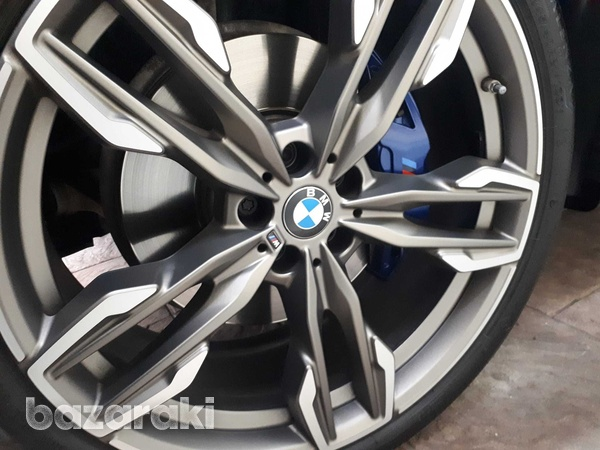 Bmw 718m original 21 inches wheels with runflat tyres for x3/x4-2