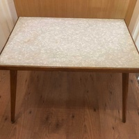 Original formaica coffee/side table 60s