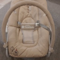 Baby cradle / rocker / bassinet