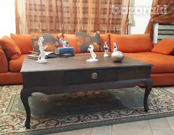 Living room center table - τραπέζι καθιστικού-1