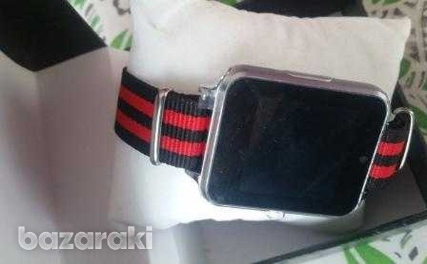 Just in z60i bluetooth smart watch phone mate stainless steel-2