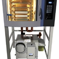 Automatic grease trap for ovens grease guardian combi
