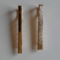 2 gold plated pins for ties