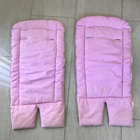 Real nice pink padded cushion insert for child's car seat or pushchair