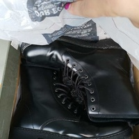 Timberland almost new black boots boxed