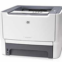 Hp p2015n used a ethernet usb a4 laser bw