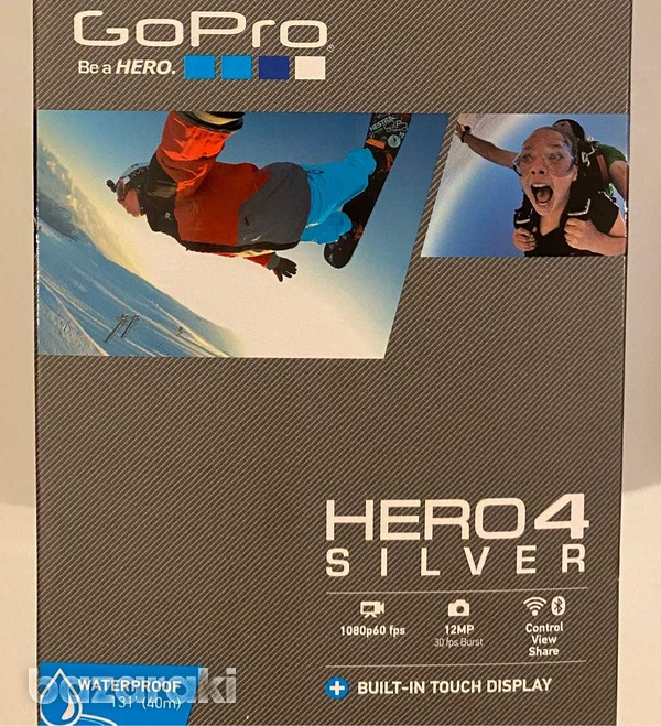 Gopro hero 4 silver with original accessories-1