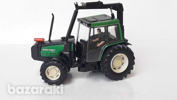 Vintage collectible rare britains 1997 macau diecast model tractor val-5