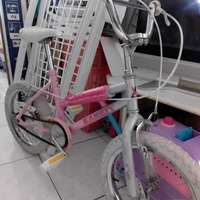 Child bicycle 16 inch wheels in excellent condition .