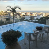 5 bedroom villa with panoramic sea and town view