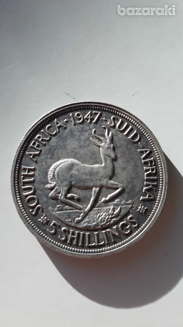 South africa 1947 silver coin-1