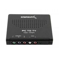 Sabrent pc to component video converter