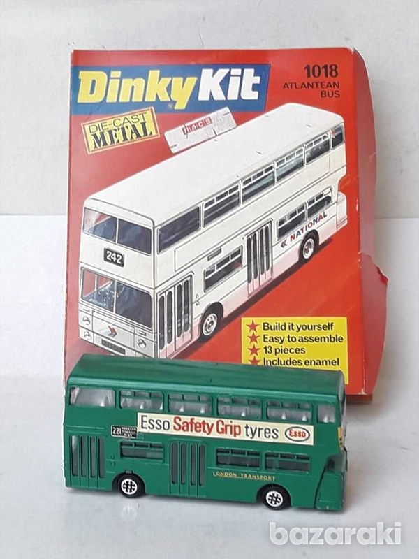 Vintage 70s collectible meccano dinky kit metal diecast model 1018 atl-4
