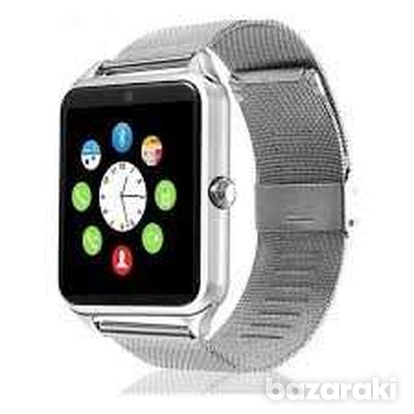 Smart watch stainless steel for android ios iphone-5