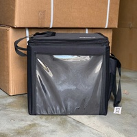 Insulated delivery hand bag