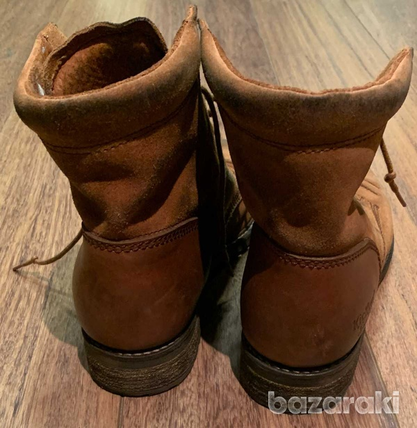 Kickers camel ankleboots, size 41-5