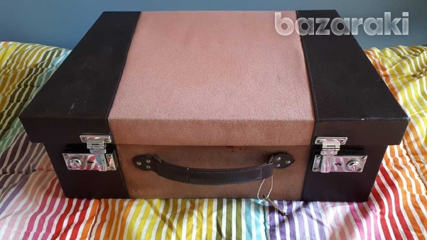 Vintage style wooden suitcase set of 3 / βαλίτσες.-8