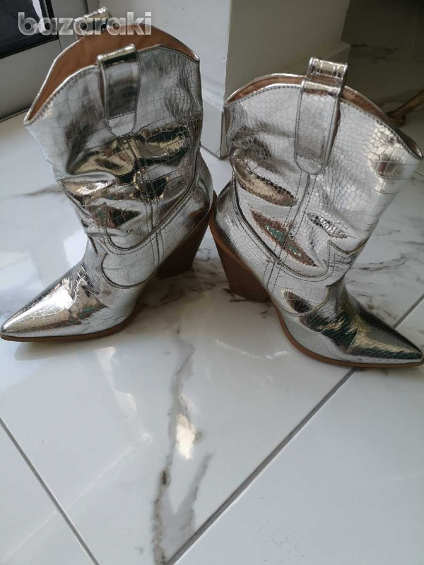Silver boots-3