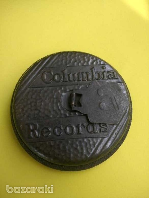 Antique 1940s columbia records record cleaning disk-1