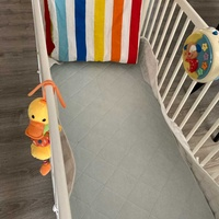 Baby bed ikea with mattress andaccessories