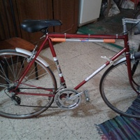 Favorit road racing bike 1980 vintage very rare