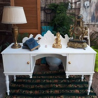 Shabby chic dresser table - console table.