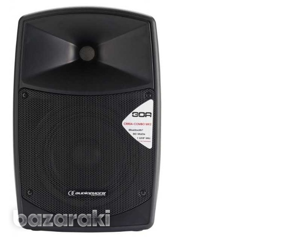 Bluetooth 80w battery-powered portable sound system with usb reader-1