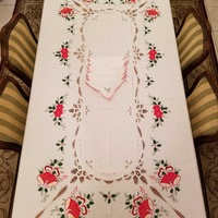 Christmas tablecloth, extra large