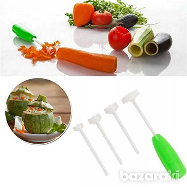 Vegetable digging tool, four pieces, four sizes-3
