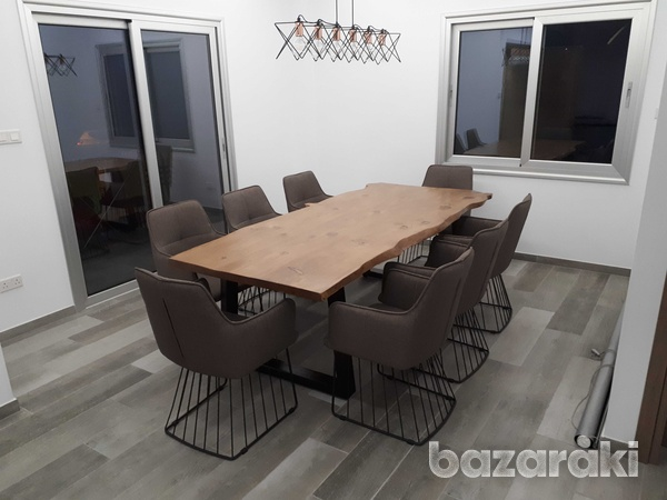 Live edge dining table-2