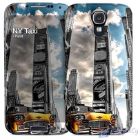 Ipaint ny taxi paint hard case skin free screen protector for samsung
