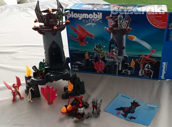 Playmobil 5089 knights battle in the dragon tower-3