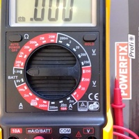 Multimeter full range with accessories brand new in a sealed box.