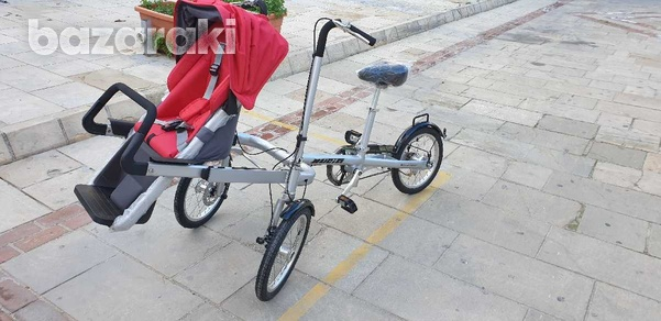 Bicycle and baby pram in one-6