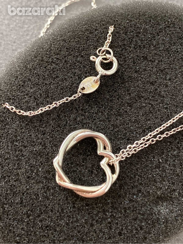 Links london silver necklace-4