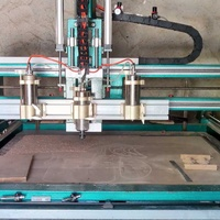 Multi head cnc router machine with many extras