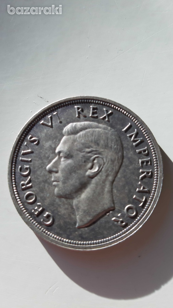 South africa 1947 silver coin-2